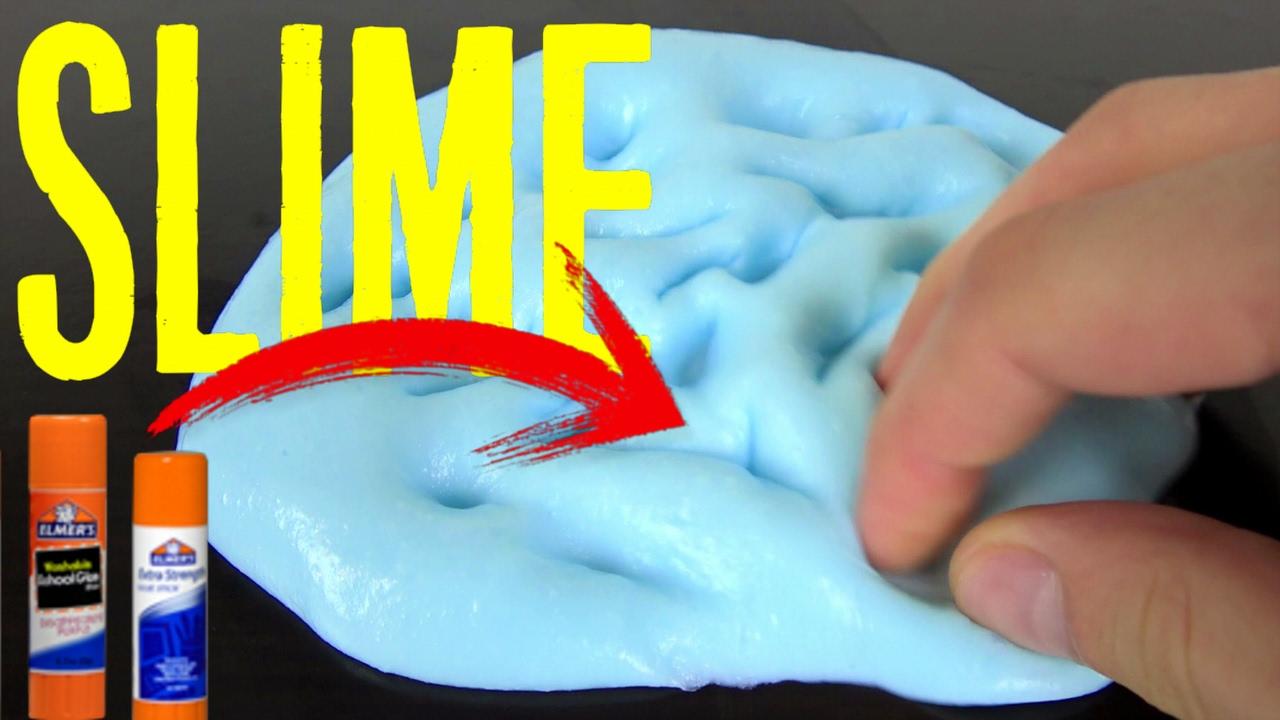 Cómo Hacer Slime Con Pegamento De Barra Como Hacer Slime