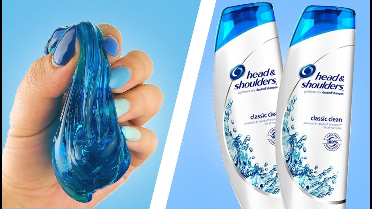 Como hacer Slime con champú (shampoo)