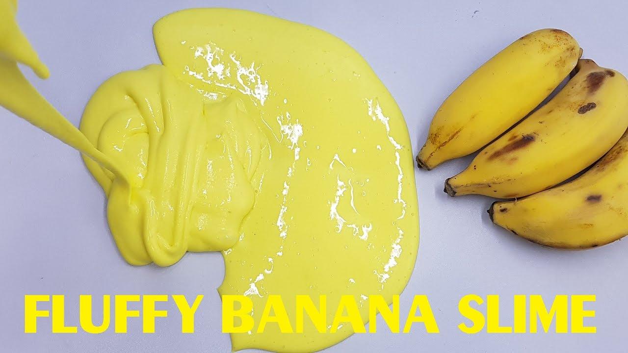 Hacer Slime con plátano